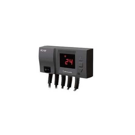 Регулятор для управління насосом центрального опалювання і вентиляторів РС 16F