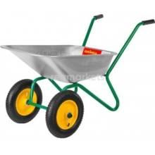 Тачка садова 2-колісна оц. 65 л 100кг