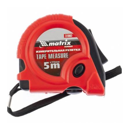 Рулетка 5м/19мм MTX 310029