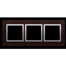 Рамка 3-а MR3/18 горіхова