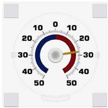 Термометр побутовий ТББ біметалевий