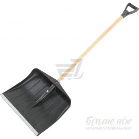 Лопата для снігу пласт. 44*46см  з держаком