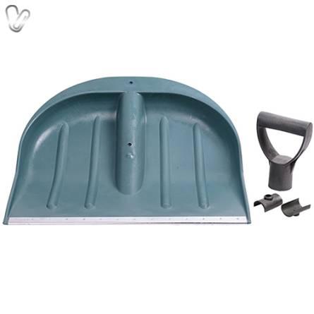 Лопата для снігу пластмасова  44х46см без держака
