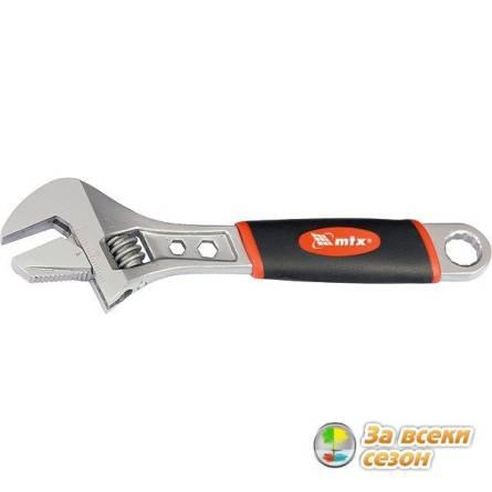 Ключ розвідний  200мм ручка 2-комп МТХ 155179