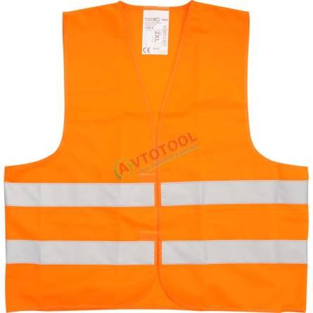 Жилет сигнальний помаранчевий Vorel XXL 74662