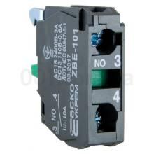 Блок-контакт N/O TB5-ZBE-101 (ДЛЯ-КНОПОК) для ТВ5