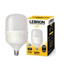 Лампа світлодіодна LEBRON 50Вт 6500 Е27+E40 12-13-15