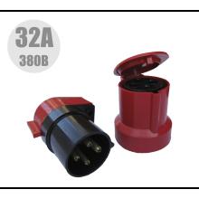 Комплект ВШ + РШ   32А 380В (червоні)