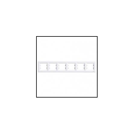 Рамка Mono DESPINA 6-а горизонтальна біла