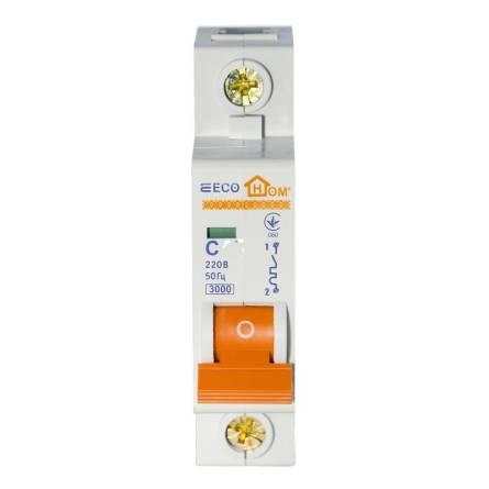 Автоматичний вимикач 20А/1-полюсний ECOHOME