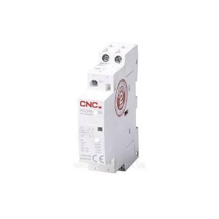 Контактор модульний YCCH6-25 2P 25А 220В 2NO CNC
