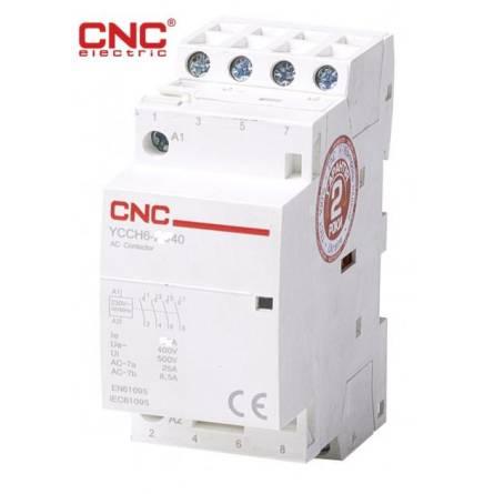 Контактор модульний YCCH6 4P 40А 220В 4NO CNC