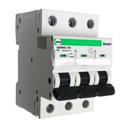 Автоматичний вимикач 25/3 С АВ2000 Standart Промфактор