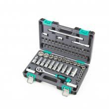 Набір інструментів 1/2 60 предметів CrV в кейсі STELS 14103