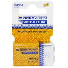 Елемент живлення Корунд 6LR61 крона Alkaline