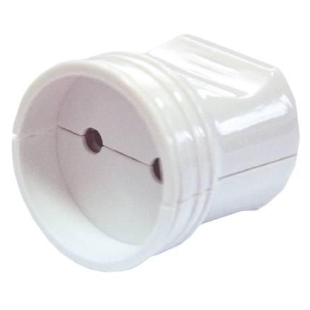 Розетка штепсельна без заземлення біла АСКО  РП 8529