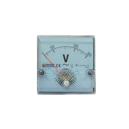 Вольтметр (300В) 80*80