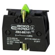 Блок-контакт N/O ZB2-BE101 зелений (ДЛЯ-КНОПОК)