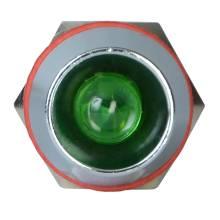 Арматура світлосигнальна  AD22С-8 мет. зелена 220 В