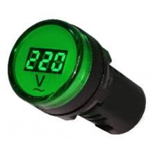 Вольтметр цифровий AD22-22DVM АС80-500В (зелений)