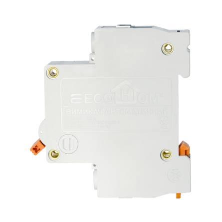 Автоматичний вимикач 10А/1-полюсний ECOHOME