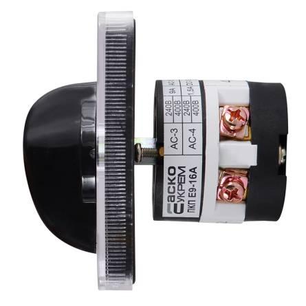 Перемикач ПКП Е9 16А/1.831 (1-0-2) 1 полюс
