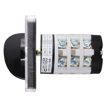 Перемикач ПКП Е9 16А/4.88 (вимірювання напруги)