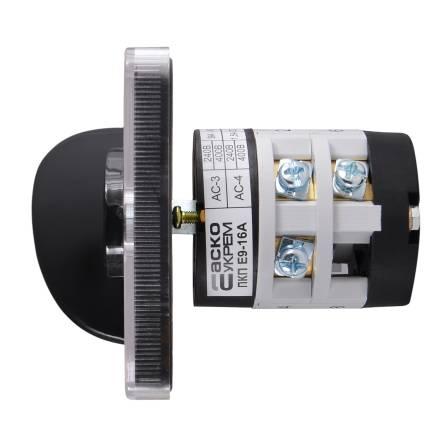 Перемикач ПКП Е9 25А/2-863 (0-1-0-2-0-3 вибір фази)
