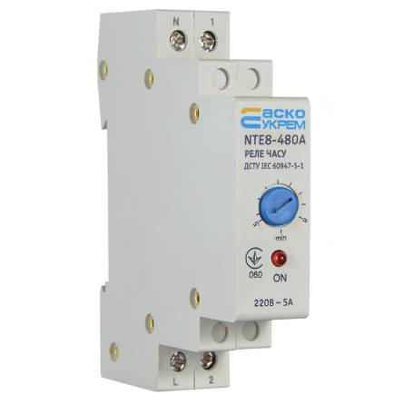 Реле часу NTE8-480A (STE8-480A) АсКо