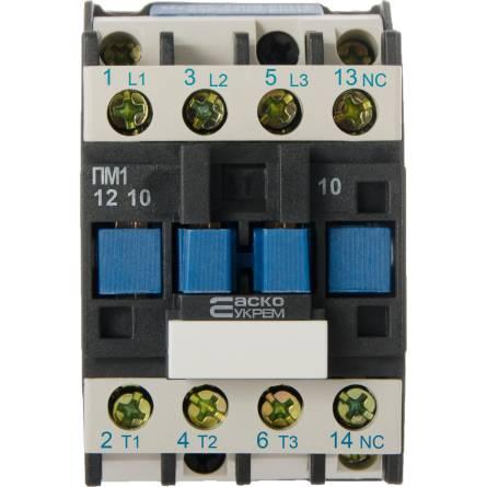 Пускач ПМ 1-12-10 (LC1-D1210) 12А 220В