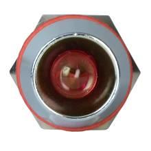Арматура світлосигнальна AD22С-10 металева червона 220 В