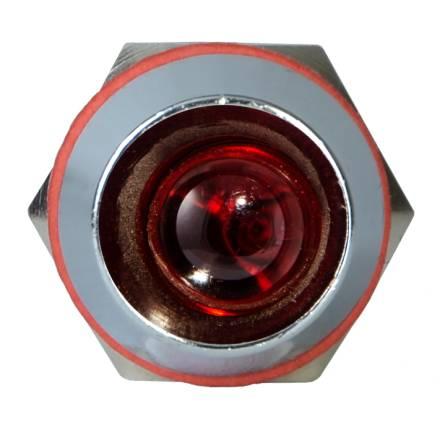 Арматура світлосигнальна AD22С-8 металева червона 220 В