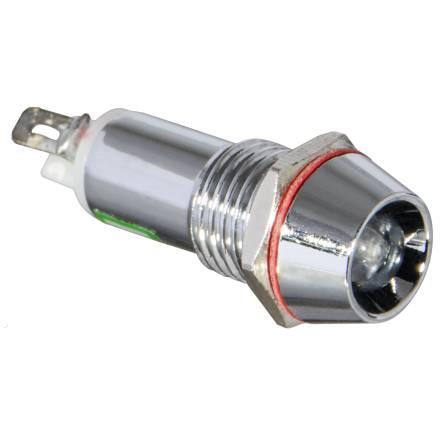 Арматура світлосигнальна AD22С-10 металева біла 24 В