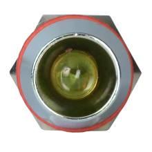 Арматура світлосигнальна  AD22С-12 металева жовта 220 В