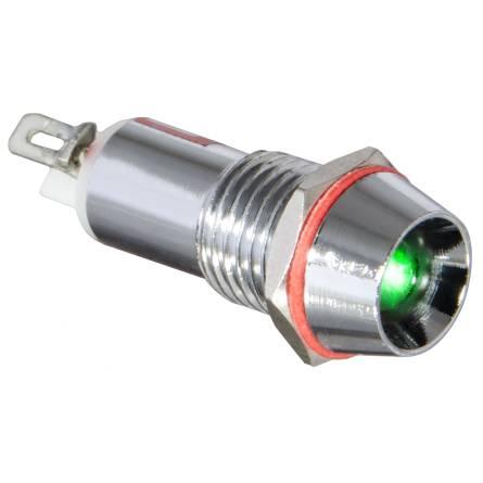 Арматура світлосигнальна AD22С-10 металева зелена 220 В
