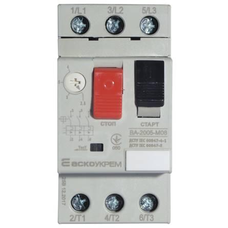 Автомат захисту двигуна ВА-2005 М08
