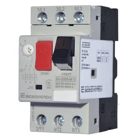 Автомат захисту двигуна ВА-2005 М16