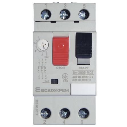 Автомат захисту двигуна ВА-2005 М05