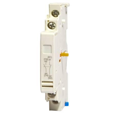 Додатковий контакт GV-AЕ11 (верхній  до авт.зах.двигуна ВА2005 1НО+1НЗ)