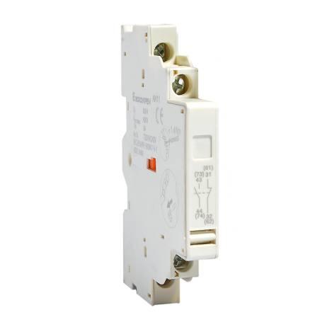 Додатковий контакт GV-AN11 (боковий до авт.зах.двигуна ВА 2005 1НО+1НЗ)