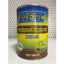 Мастило солідол жировий 800г  AVERC