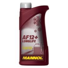 Антифриз AF 12+ (red) Mannol 1л, концентрат