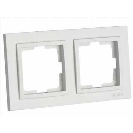 Рамка Mono DESPINA 2-а горизонтальна біла