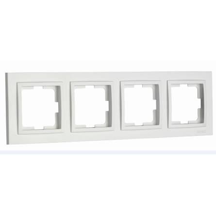 Рамка Mono DESPINA 4-а горизонтальна біла