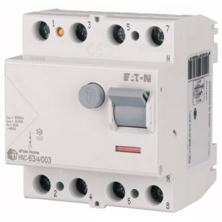 Реле диференційного струму HNC - 63/4/0,03  EATON