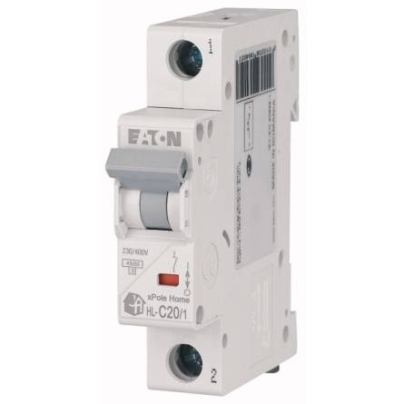 Автоматичний вимикач 20/1 HL-C EATON
