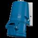 32A 3П 230В розетка настінна IP44 Mennekes (27005)