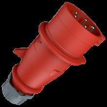 16А 5П 400В штекер IP44 Mennekes (3)