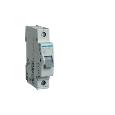 Автоматичний вимикач 40/1 MC140A/С Hager