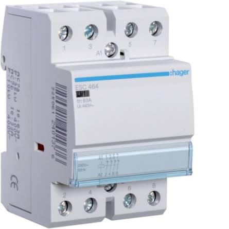 Контактор ESС-464 230В/63А 4NC Hager